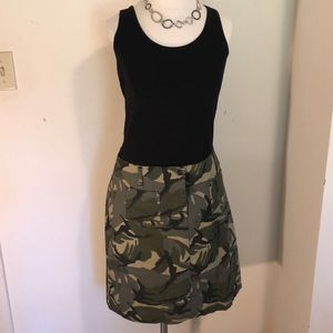 My Michelle camo skirt